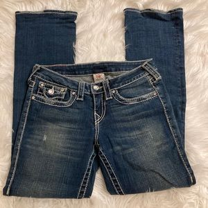 True Religion Disco Becky Big T Bootcut Je…